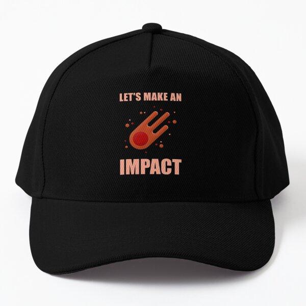 Let's Make An Impact Meteor Baseball Cap
