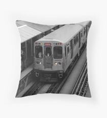 "Chicago ""L"" Throw Pillow"