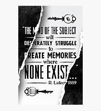 Infinite Starter Poster Photographic Print