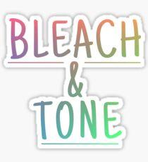 Rainbow Bleach & Tone Sticker