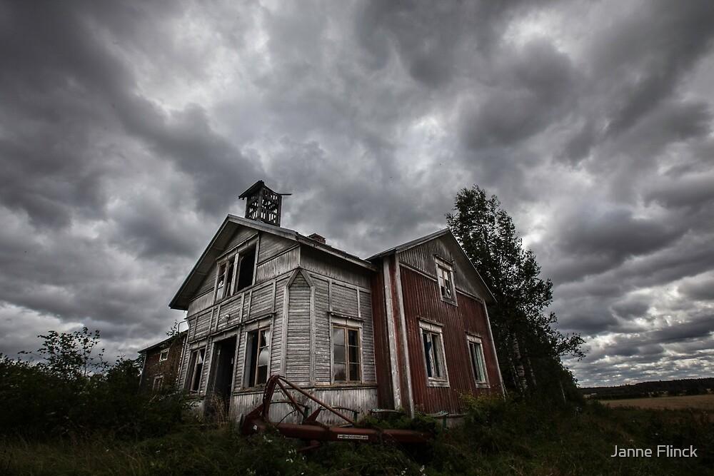 Abandoned Wind House by Janne Flinck