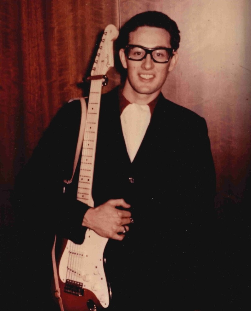 Buddy Holly  by spokwhatdo