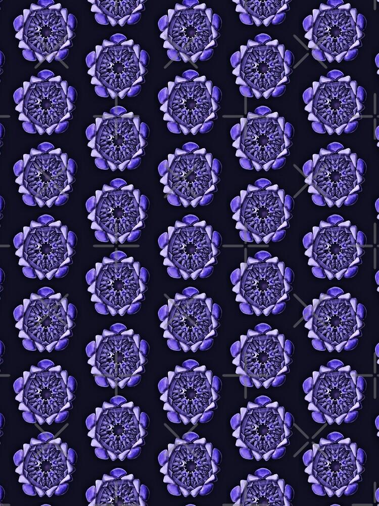 Ophiodea in Dark Purple by dianegaddis