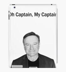 Oh Captain, My Captain - Robin Williams iPad-Hülle & Klebefolie