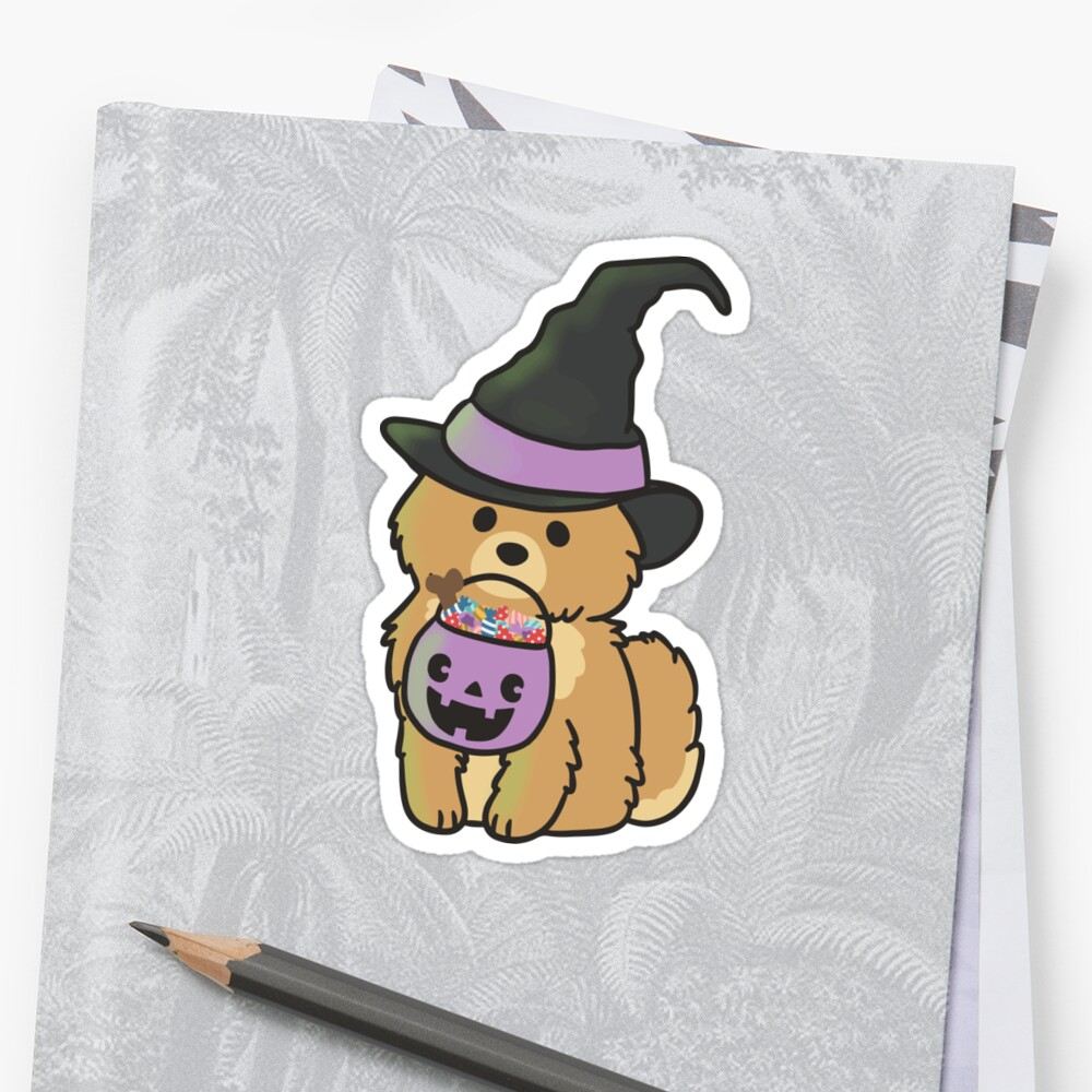 Halloween Pomeranian by ncdoggGraphics