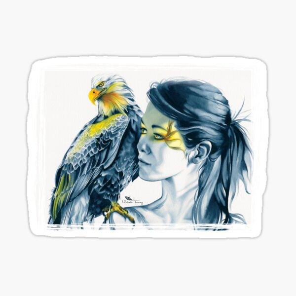 Eagle Totem Sticker