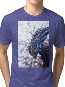 Alien from sci-fi movie Tri-blend T-Shirt