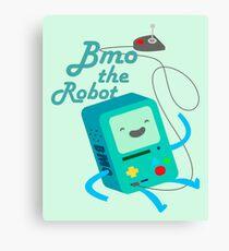 BMO, The Robot Canvas Print