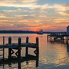 Sunset in Gloucester by Amy Jackson