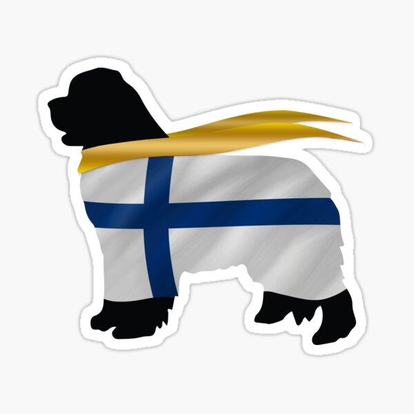 Newfoundland of Finland Sticker