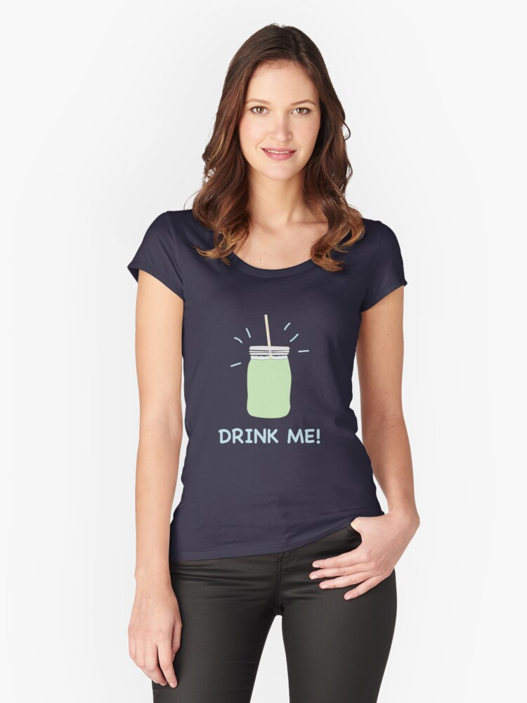 Green Smoothie Women's Fitted Scoop T-Shirt Front