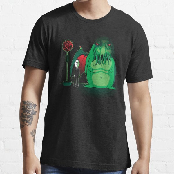 Cthulhu Waits Essential T-Shirt