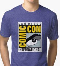 Comic Con No Border Tri-blend T-Shirt