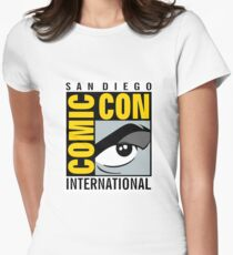 Comic Con No Border Women's Fitted T-Shirt