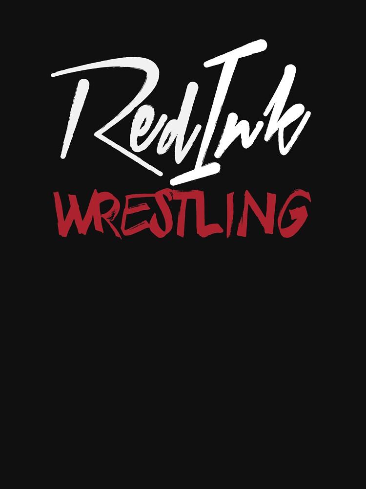 Red Ink Wrestling Logo by RedInkWrestling