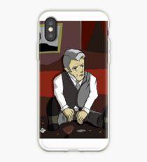 Dark Roger Sterling iPhone Case