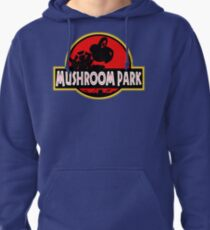 Mushroom Park Pullover Hoodie