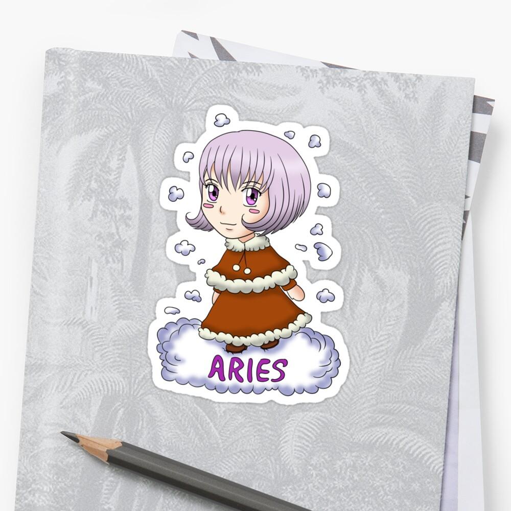 Chibi Aries by dixieulquiorra