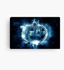 Ethereal Jack-O-Lantern Canvas Print