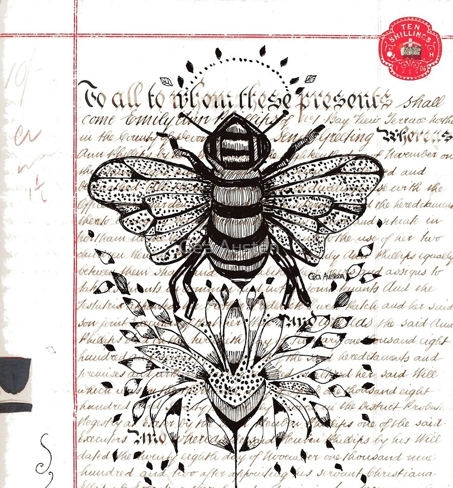 THE HISTORY OF THE BEE by Gea Austen