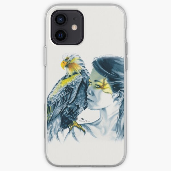 Eagle Totem iPhone Soft Case