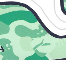 Vineyard Vines - Underwater Camo Sticker