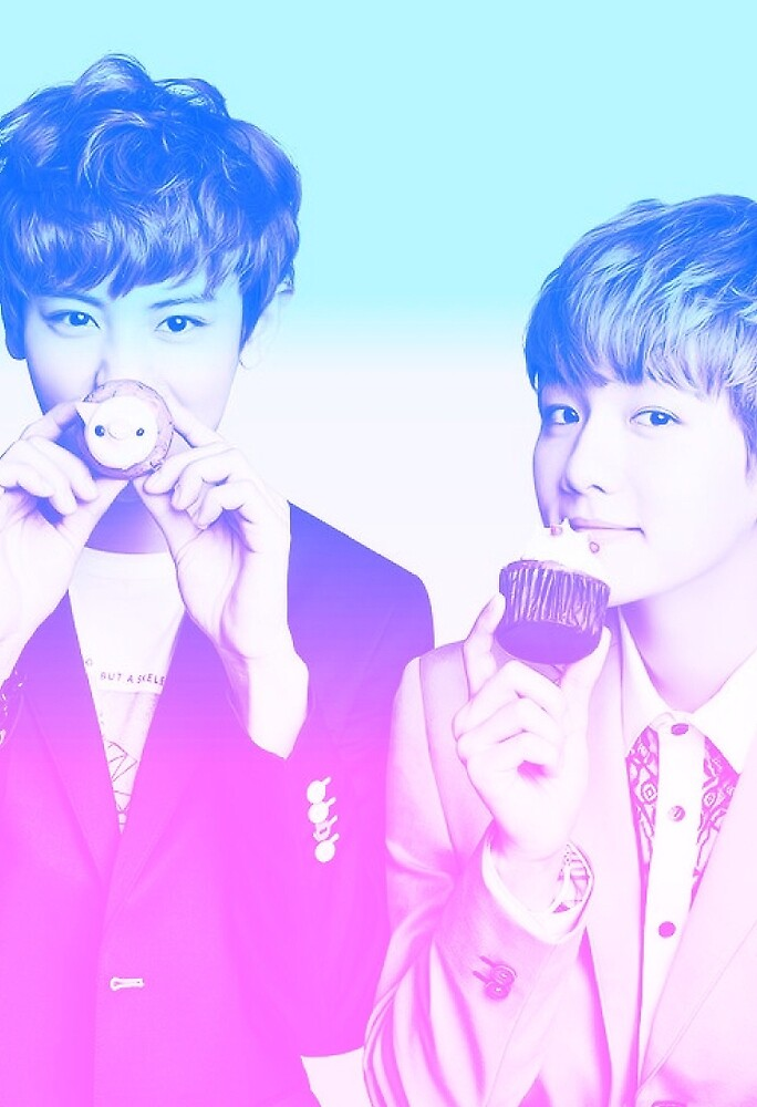 Baekyeol Gradient by jackisthename