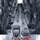 Cakewalk - Traffic Caused By A Cake And Her Cups by illustrarticles