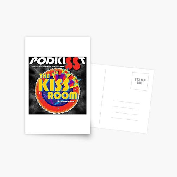 PODKISST & THE KISS ROOM! Postcard