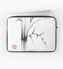 'Simplicity' paper & brush ink pen hand drawing Laptop Sleeve