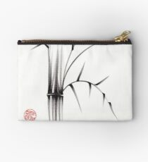'Simplicity' paper & brush ink pen hand drawing Studio Pouch