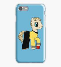 James T Kirk - Pony of the Starship Enterprise iPhone Case/Skin