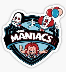MANIACS IV Sticker