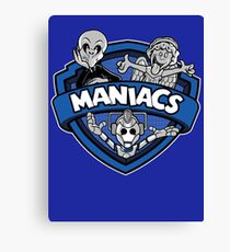 Who's MANIACS! Canvas Print