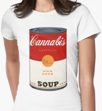 Cannabis Soup Women's Fitted T-Shirt