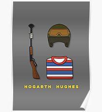 Hogarth Hughes Poster