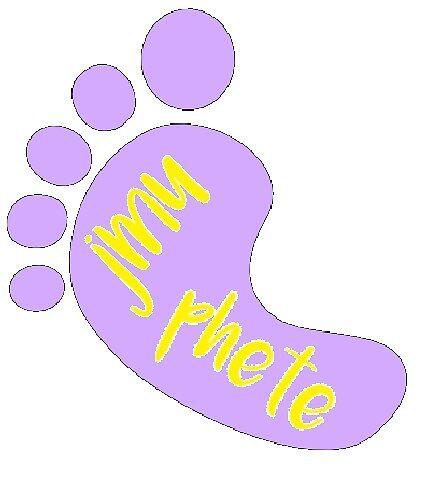 JMU PHETE Sticker (Foot) by Jhollor6
