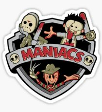 MANIACS! Sticker
