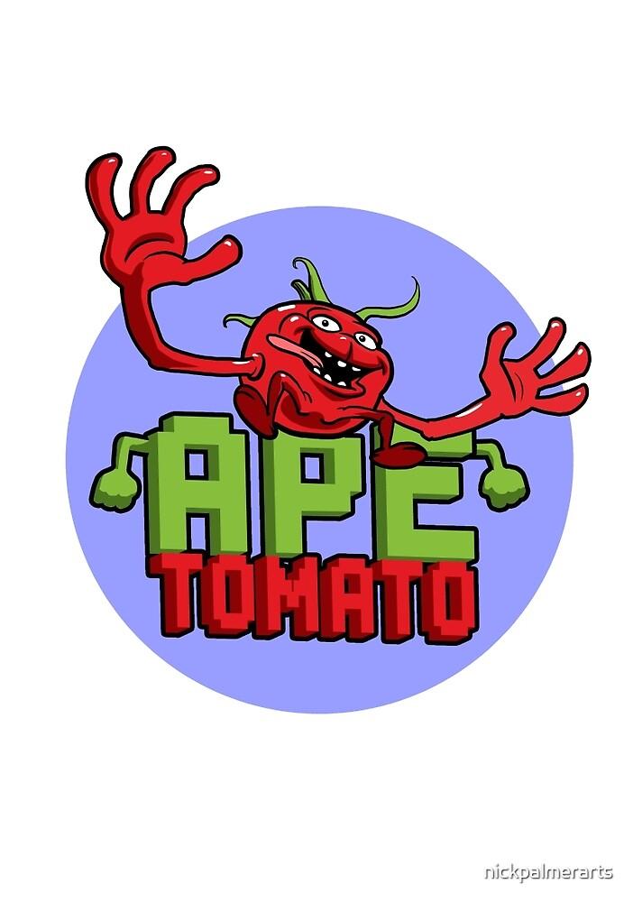 Ape Tomato BluePurple by nickpalmerarts