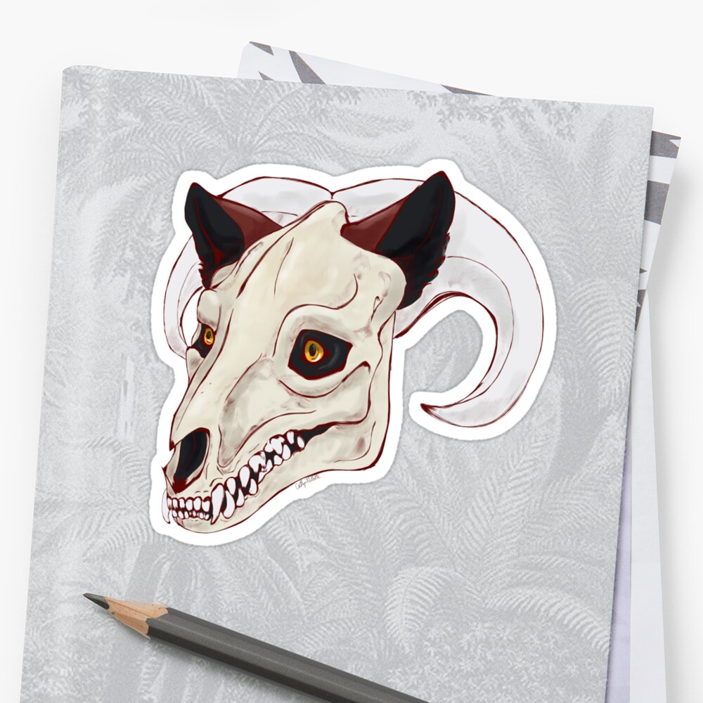 Hell Hound Decal by FieryBadger