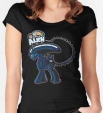 My Little Alien Women's Fitted Scoop T-Shirt