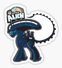 My Little Alien Sticker