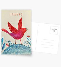 Uplifted - Thanks Postcards
