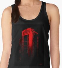 Telephone Booth Red Ink Women's Tank Top