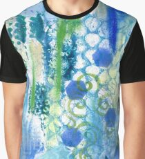 In amongst the blues and greens  Graphic T-Shirt