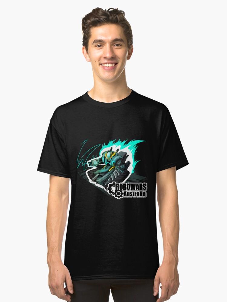 ROBOWARS AUSTRALIA 2016 OFFICIAL DESIGN Classic T-Shirt Front