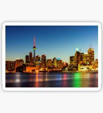 Toronto Skyline 3 Sticker