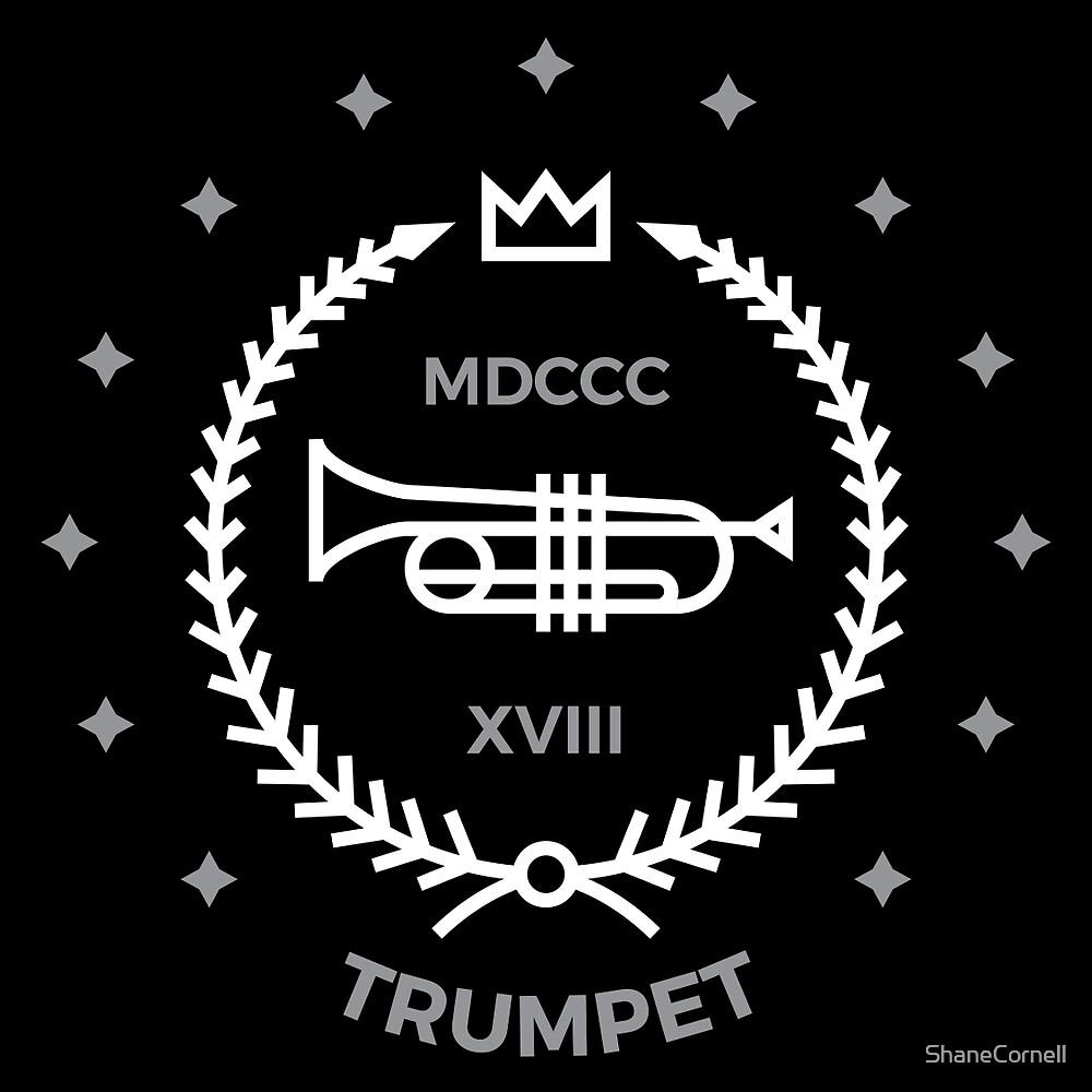 Trumpet - White & Gray by ShaneCornell