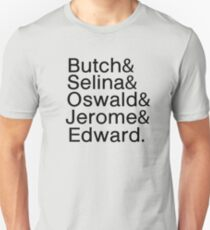 Gotham's Villains Real Name List Unisex T-Shirt