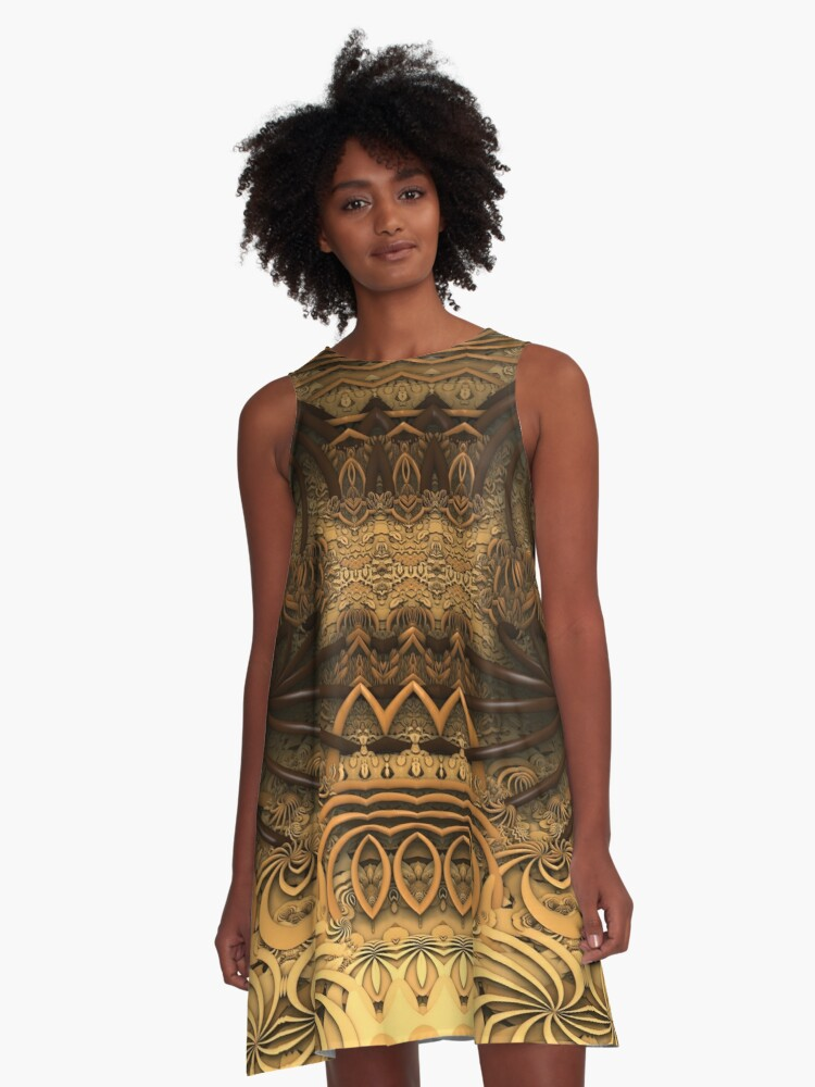 Complication 3 A-Line Dress Front
